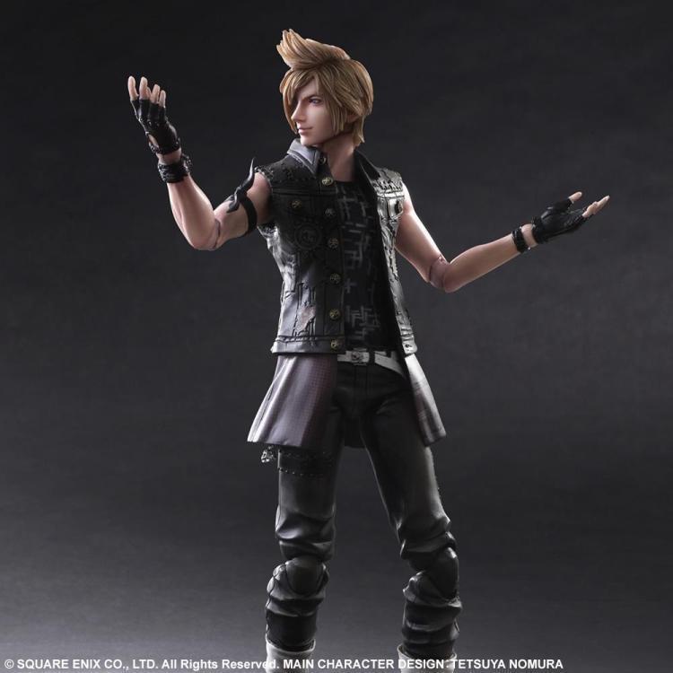 play arts 27cm final fantasy xv prompto argentum action figure model