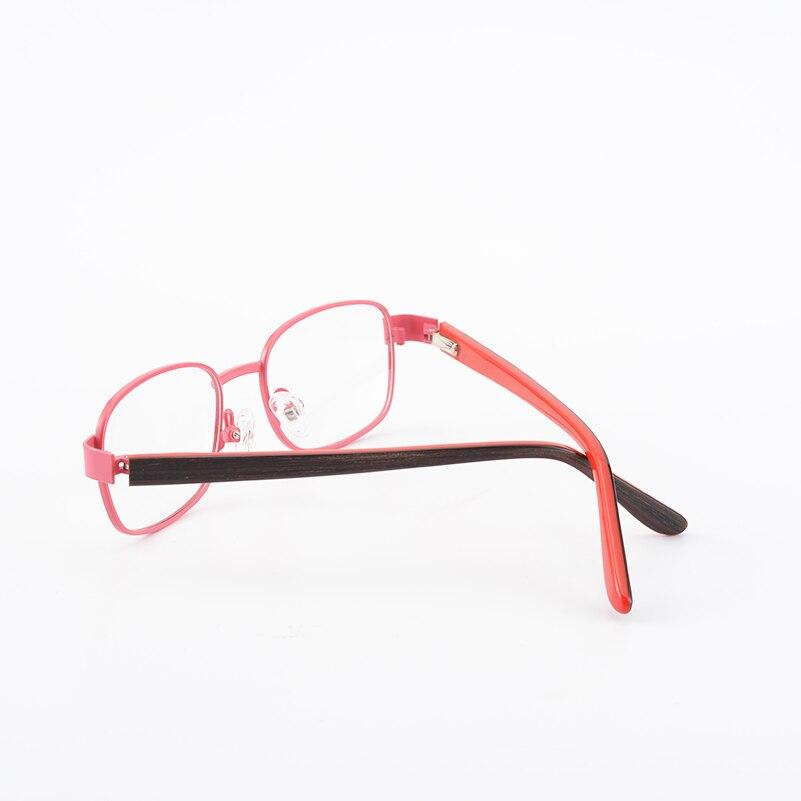 Kirka Metal Kids Eyeglasses Children Pink Plain Glasses Frame ...