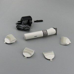 Image 4 - ماكينة قص الشعر الكهربائية القابلة لإعادة الشحن للرجال