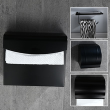 Bathroom Hardware Set #10 Modern Paper Holders  Waterproof Tissue Box Toilet Roll Towel Dispenser Napkins Rack Metal