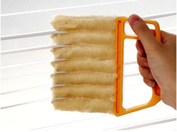 Venetian Blind cleaning brush unpick window blinds clean vents, Microfibre Window Air Conditioner Duster