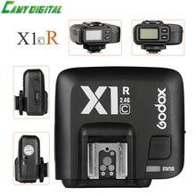 Godox x1r-c E-TTL HSS 1/8000 s 2.4 г Беспроводной x Системы Мощность Управление вспышка триггера с экран только приемник для Canon