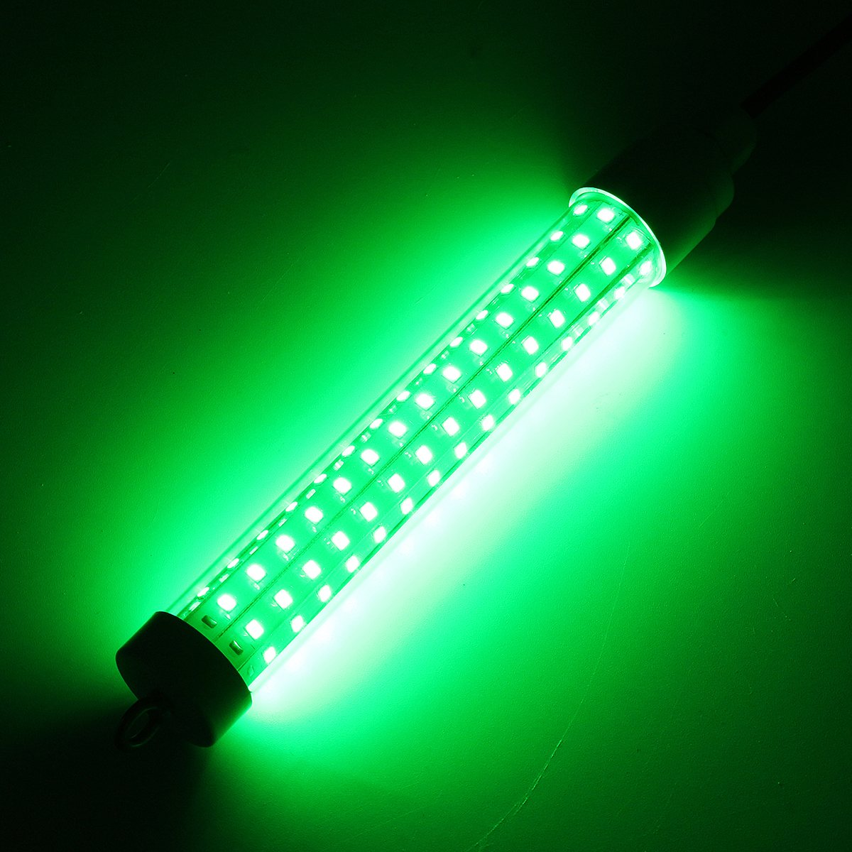 Smuxi 10W 12V Green LED Fishing Light Attracting Fish Underwater LED Night Luring Lamps For Boats Docks Fishing Tools