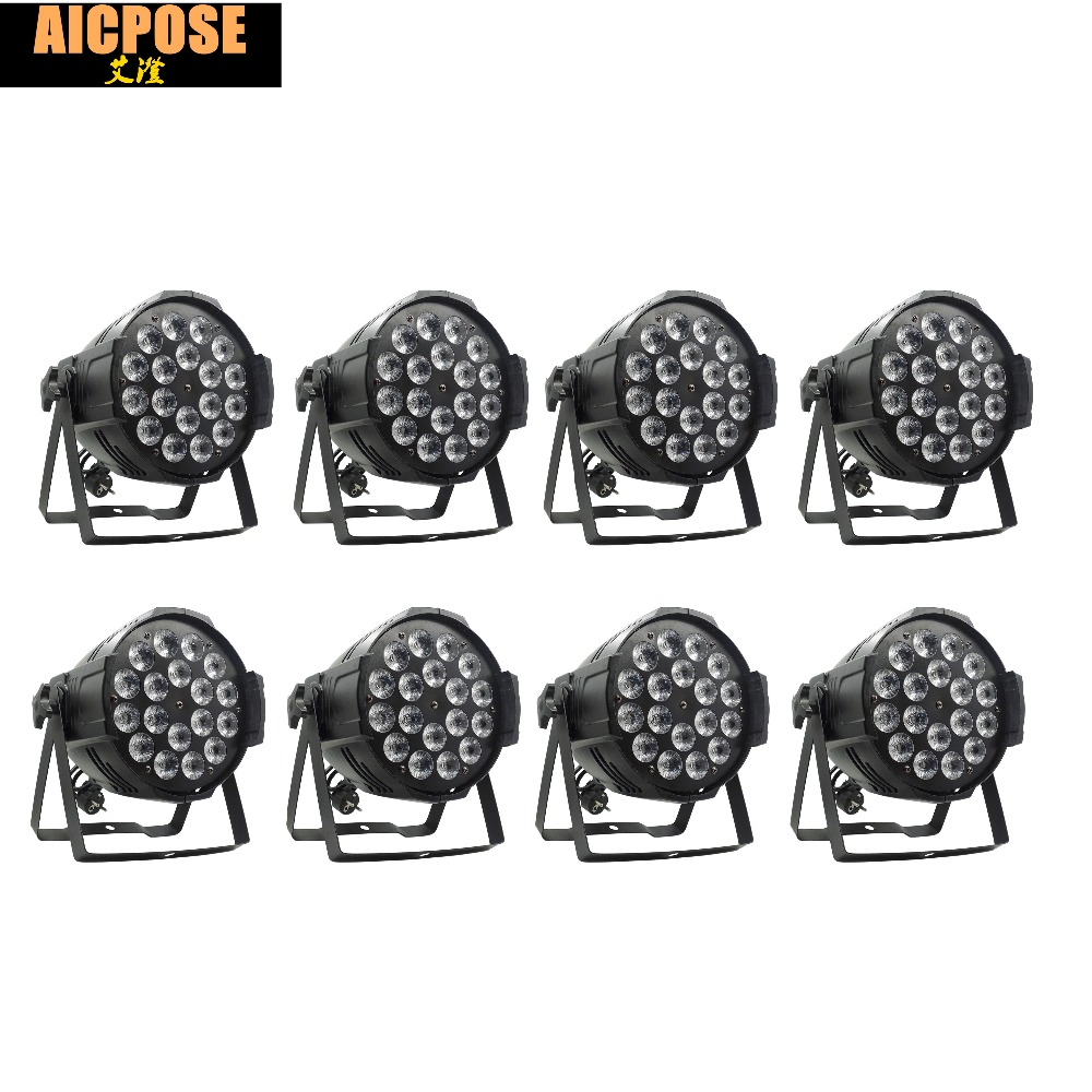 8pcs/lots 18*12w Light Aluminum LED Par 18x12W RGBW 4in1 LED Par Can Par 64 led spotlight dj projector wash lighting stage light8pcs/lots 18*12w Light Aluminum LED Par 18x12W RGBW 4in1 LED Par Can Par 64 led spotlight dj projector wash lighting stage light