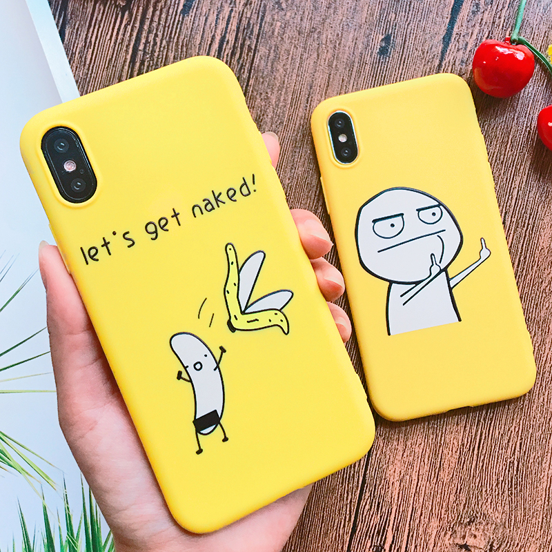 Funny Cartoon Giraffe Phone Case For iPhone 7 8 Plus TPU Silicone Back Cover for iPhone X XR XS Max 6 6S Plus 5 5S SE Soft Case (14)