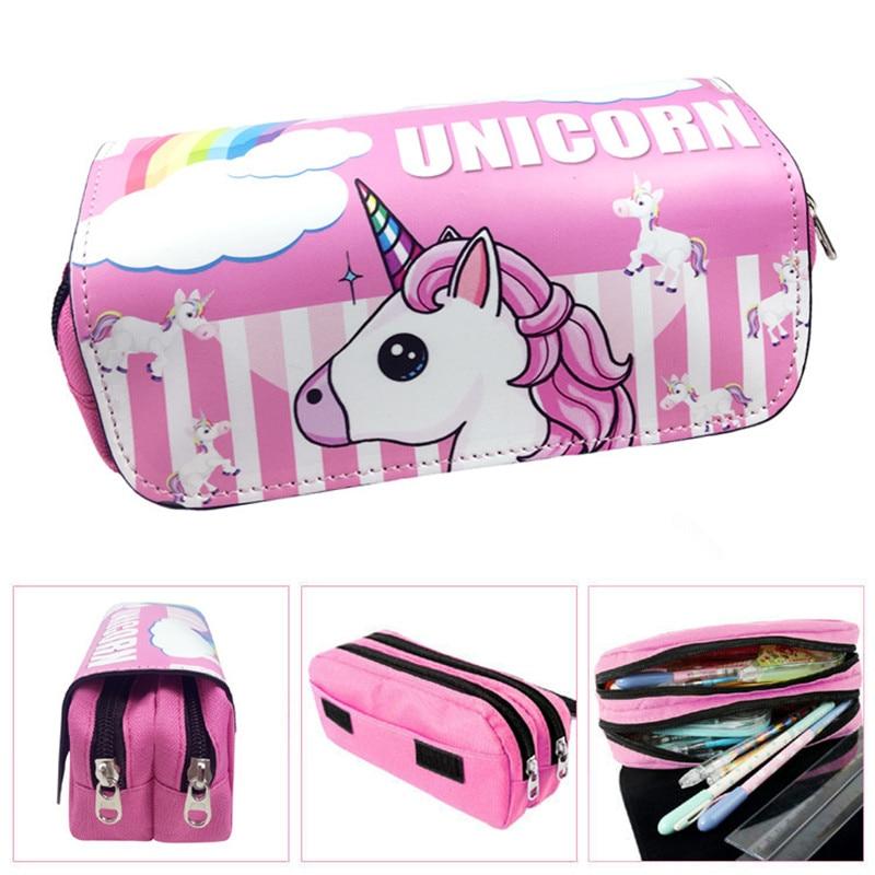 Unicorn Stationery Pencil Case Pens