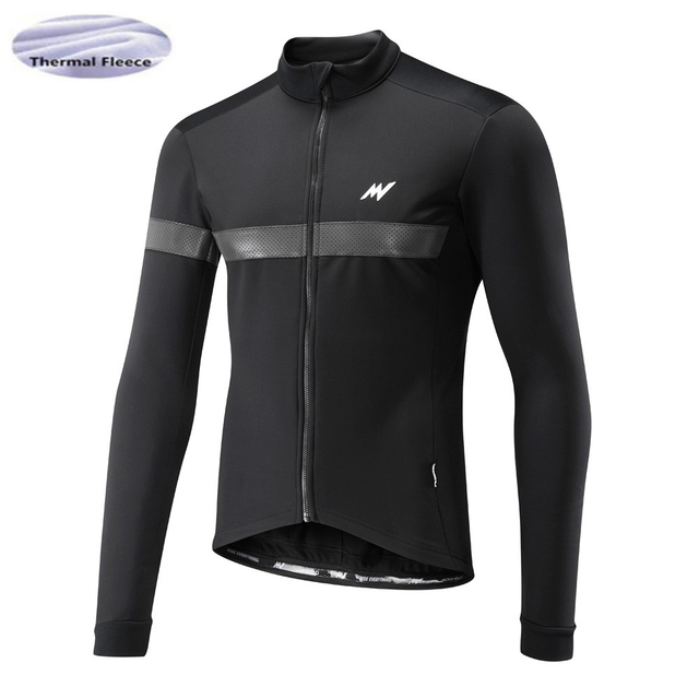 8fd2b4cc4 2018 Winter Thermal Fleece Men Bicycle Long Sleeve Cycling Jersey Clothing  Pro Team Outdoor Mountain Road Uniform Bike Triathlon