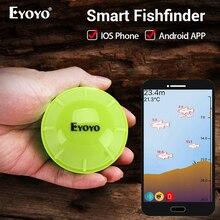 Eyoyo E1 Portable Sonar Fish Finder Bluetooth Wireless Depth Sea Lake Detect Echo Sounder Sener FishFinder IOS Android