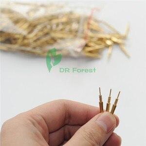 Image 2 - 1000 szt. Laboratorium dentystyczne mosiężne kołki rozporowe #2 średnie