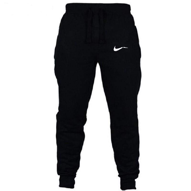 Casual Pants Workout-Pan Jogger-Grey Male Trousers Fitness Cotton GYMS Brand Elastic