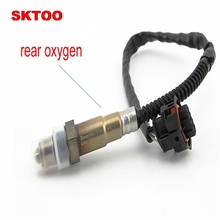SKTOO 2PCS For 2010-2013 Chevrolet Cruze 1.6L oxygen sensor front 55562205 rear 55564243