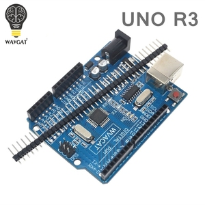 WAVGAT CNC щит V3 гравировальный станок 3D принтер 4 шт. DRV8825 Плата расширения драйвера для Arduino + UNO R3 с USB кабелем