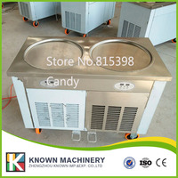 commercial 110V 220v fried ice pan machine