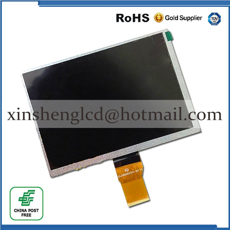 New LCD Display 8.0 inch LCD screen Matrix panel for LENCO Cooltab 80 Tablet LCD Free Shipping free shipping original 9 inch lcd screen cable numbers kr090lb3s 1030300647 40pin