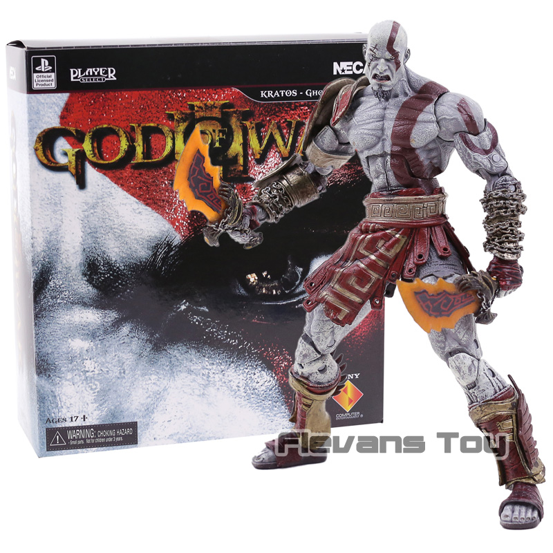 NECA God of War Ghost of Sparta Kratos PVC Action Figure Collectible Model Toy Gift Boxed new women sandals sapato feminino handmade genuine leather flat shoes wedge flip flops beach women slipper shoes sandalias mujer