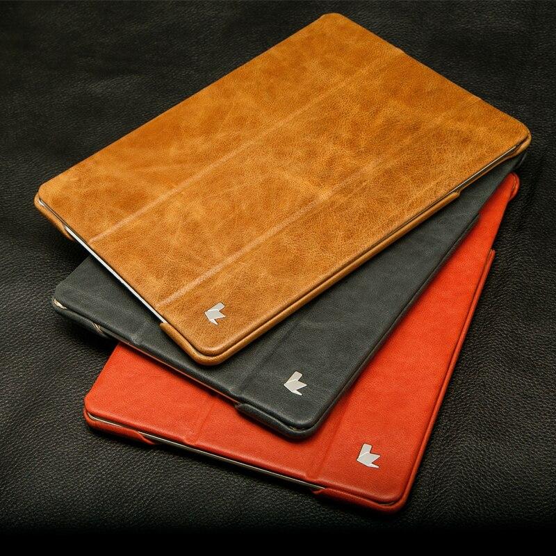 Jisoncase balik kasus untuk ipad air 1 ipad air 2 smart cover mewah - Aksesori tablet - Foto 6