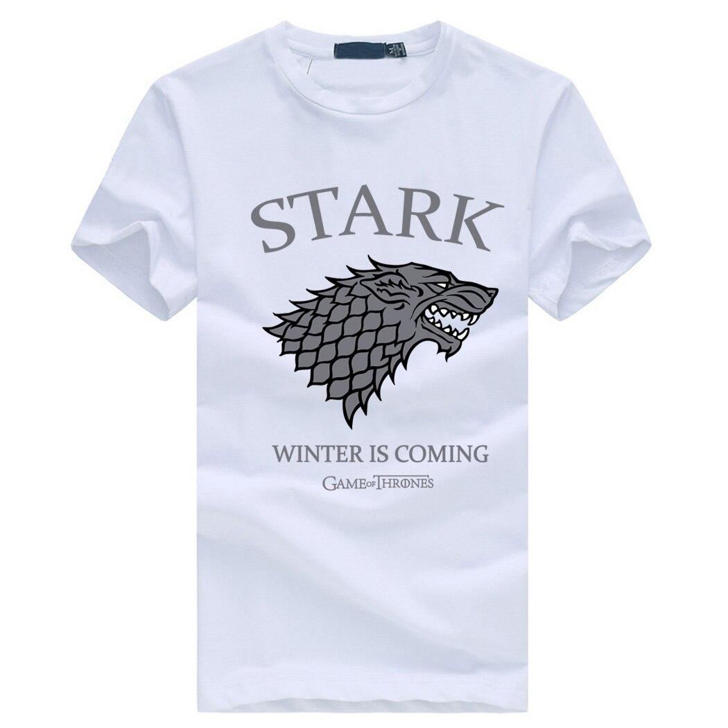 Game of Thrones House of Stark Logo T shirt