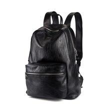 1d1b83789568 Wei Ми Ka из искусственной кожи Для мужчин новый простой сумка, мешок,  Средняя школа студент рюкзак, tidal сумка