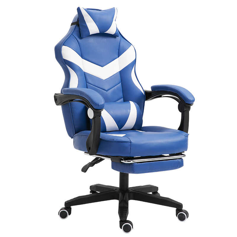 Cadeira de jogos electrificada internet café poltrona rosa alta volta computador mobiliário de escritório executivo cadeiras mesa reclinável