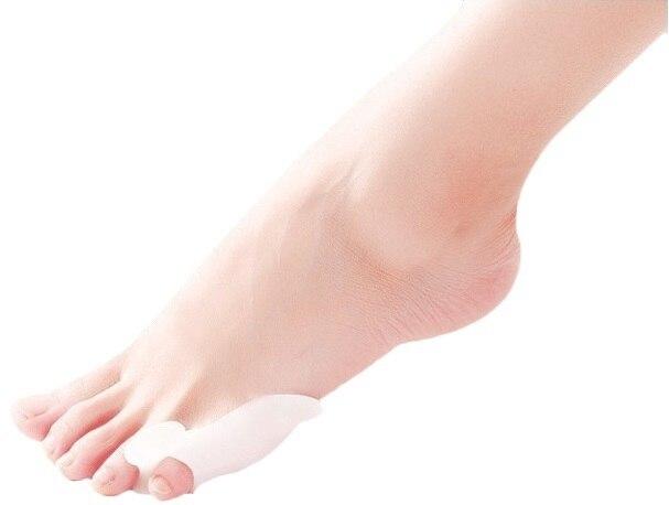 6685463edf 2016 hot Silicone Gel dedos do pé Toe separador polegar valgo protetor  joanete ajustador hálux valgo