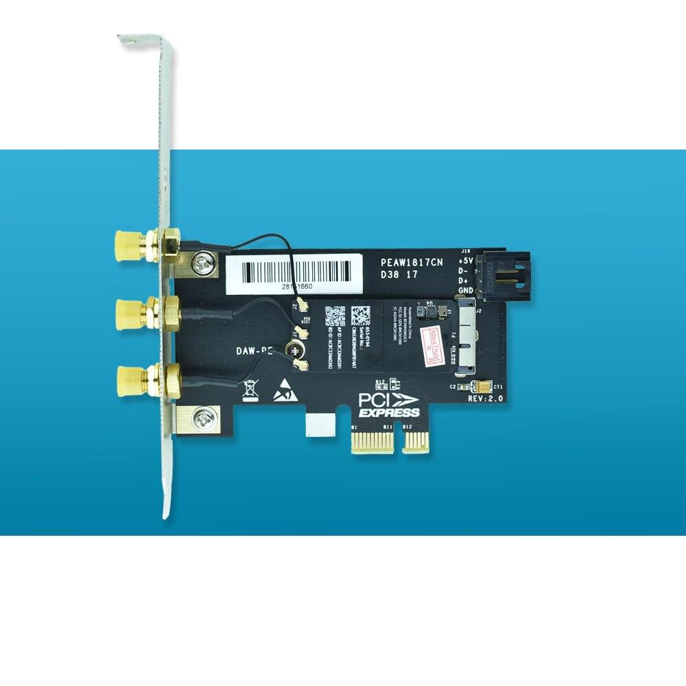 BCM943602CS 2 4&5G 1300Mbps BT4 0 WiFi Network Card for desktop free  drivers on Mac OS hackintosh PK BCM94360CD