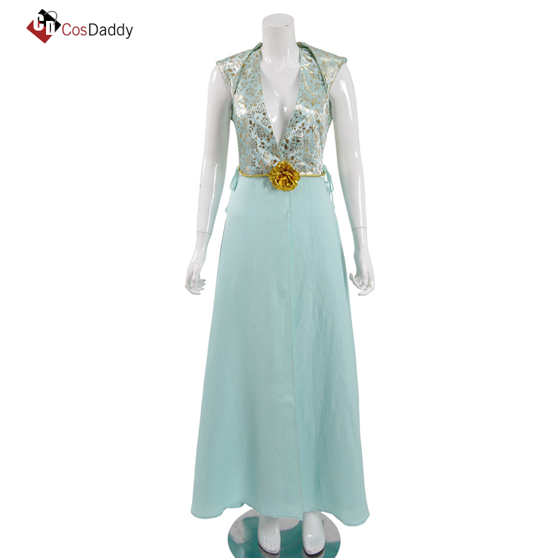 Margaery Tyrell  Cosplay Costume  Clothes  long Dresses CosDaddy