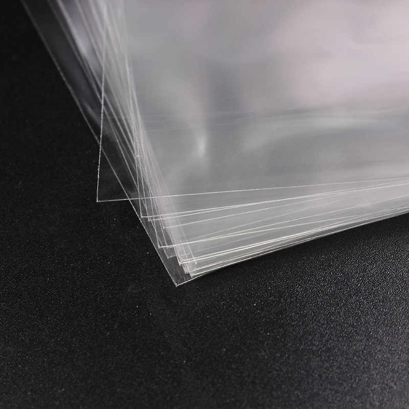 100pcs Transparent Self Adhesive Seal Bags OPP Plastic Cellophane Bags Gifts Candy Bag & Pouch Jewelry Packaging Bag