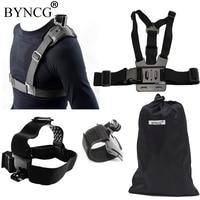 BYNCG For GoPro Hero 6 Accessories Set Go Pro 543 Kit Mount For Wifi SJCAM SJ4000