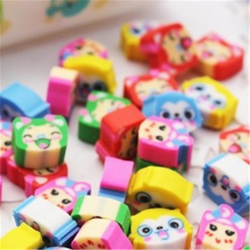 DL Korean Stationery Hot Creative Fruit Modeling Eraser Learning Articles  Holesale Price Office & School Stationery Exquisite