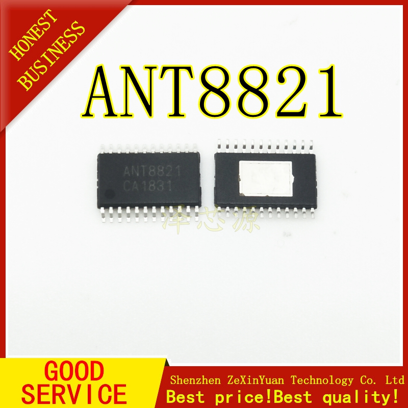 Chip Amplifier Audio-Power Boost 2PCS ANT8821 TSSOP-24 Synchronized Dynamic Class-D Dual-Channel title=