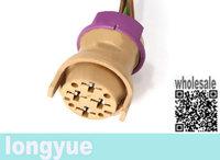 longyue 2pcs Fuel Pump Plug Wiring Pigtail Harness For Audi A4 S4 96-01 B5 A6 99-04 6