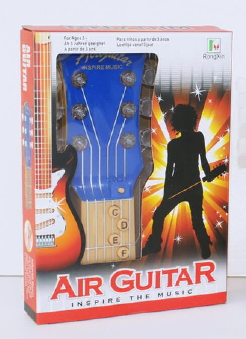 3263 Air Guitar Inspire The Music 6 Led Flashing Lights