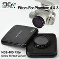 PGY DJI Phantom 4 DJI Phantom 3 Профессиональный Расширенный Объектив Камеры Фильтр ND2-400 Фильтр