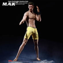 TBLeague 2018 M36A 1/6 Asian Male Flexible Seamless Male Star Suntan Muscular Body Model M36A