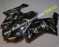 Hot Sales,For Kawasaki Ninja ZX 6R Motorbike Cowling 07 08 ZX 6R aftermarket kit 636 2007 2008 ZX6R Fairings (Injection molding)
