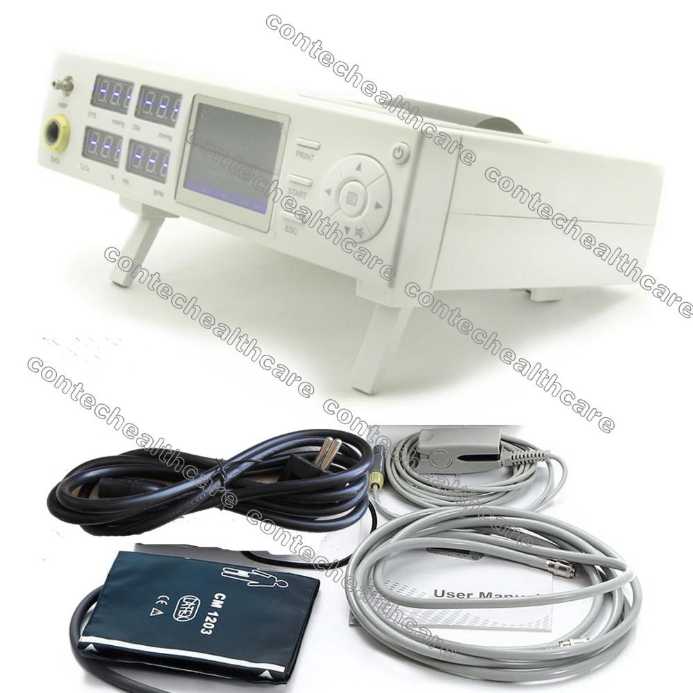 Patient Monitor Vital Signs Monitor NIBP+SPO2+PulseRate CONTEC,warranty,CMS5000B heliotrop vital q10 104 he794