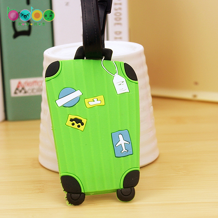acessórios de viagem bolsaagem tag Comprimento do Item : 5.5cm