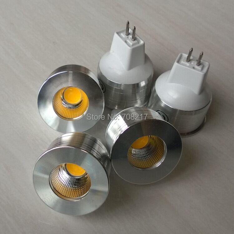 12x High Power 5W COB LED bulb light MR11 LED Bulb indoor lighting DC12V GU10 GU5