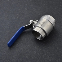 Wholesales acid alkali resistant Stainless steel SS304 material high temperature hydraulic high pressure hose tube ball valve