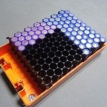 4 шт./лот 18650 цилиндрический держатель для батарей 2*10, пластиковый держатель для литиево ионных батарей 18650, пластиковый корпус, оптовая продажа