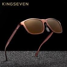 Kingseven 레트로 알루미늄 마그네슘 선글라스 편광 된 빈티지 여성 태양 안경 운전 남자 안경 액세서리