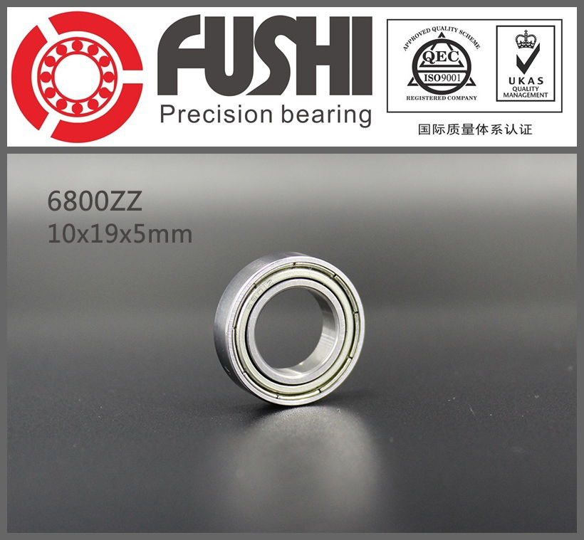 6800ZZ Bearing ABEC-1 (10PCS) 10*19*5 mm Metric Thin Section 6800 ZZ Ball Bearings 6800Z 61800 ZZ csef110 cscf110 csxf110 thin section bearing 11x12 5x0 75 inch 279 4x317 5x19 05 mm ntn kyf110 krf110 kxf110