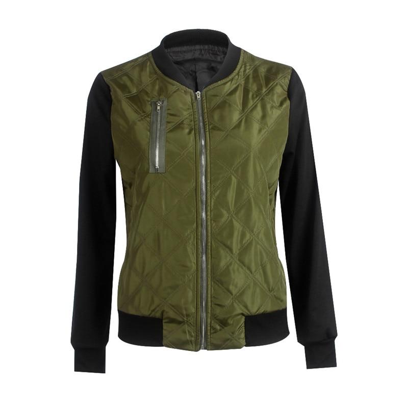 Heyouthoney Bomber Jacket Harajuku Jacket Women Coat Fashion Woman Basic Coats Designer Punk Army Green Black warm Streetwear