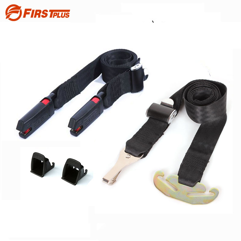 Update ISOFIX LATCH Belt Connector Child Baby Car Safety Seat Interface Connection Belts with ISOFIX Guide Grooves