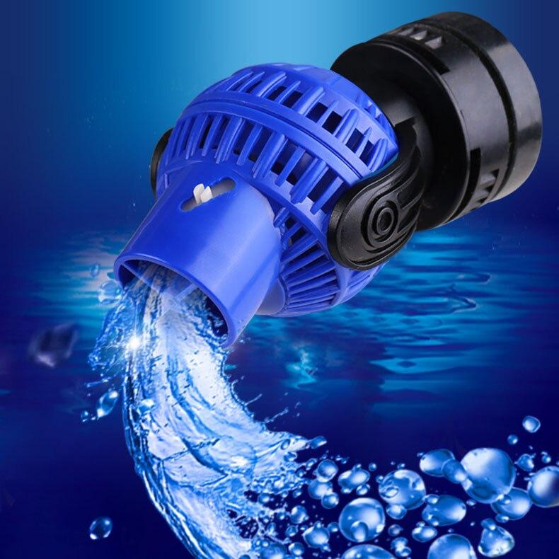 110v 220v Wave Maker Pump Filter JVP Series Mini Nano Magnet Base Fix Clip 15mm Thickness Glass Aquarium Reef Coral Fish Tank