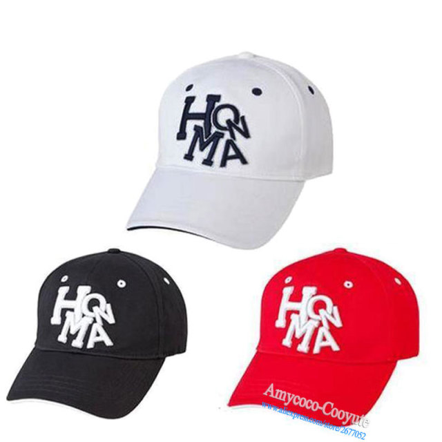 5024bbf0655 New Cooyute Gender HONMA beres Golf hat 4colors Sports Baseball cap Outdoor  hat new sunscreen shade sport golf cap Free shipping