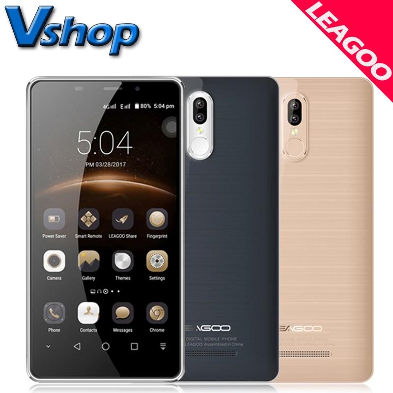 Original Leagoo M8 Pro 4G Mobile Phones Android 6.0 2GB RAM 16GB ROM Dual Back Camera Smartphone 5.7 inch 2.5D Arc Cell Phone