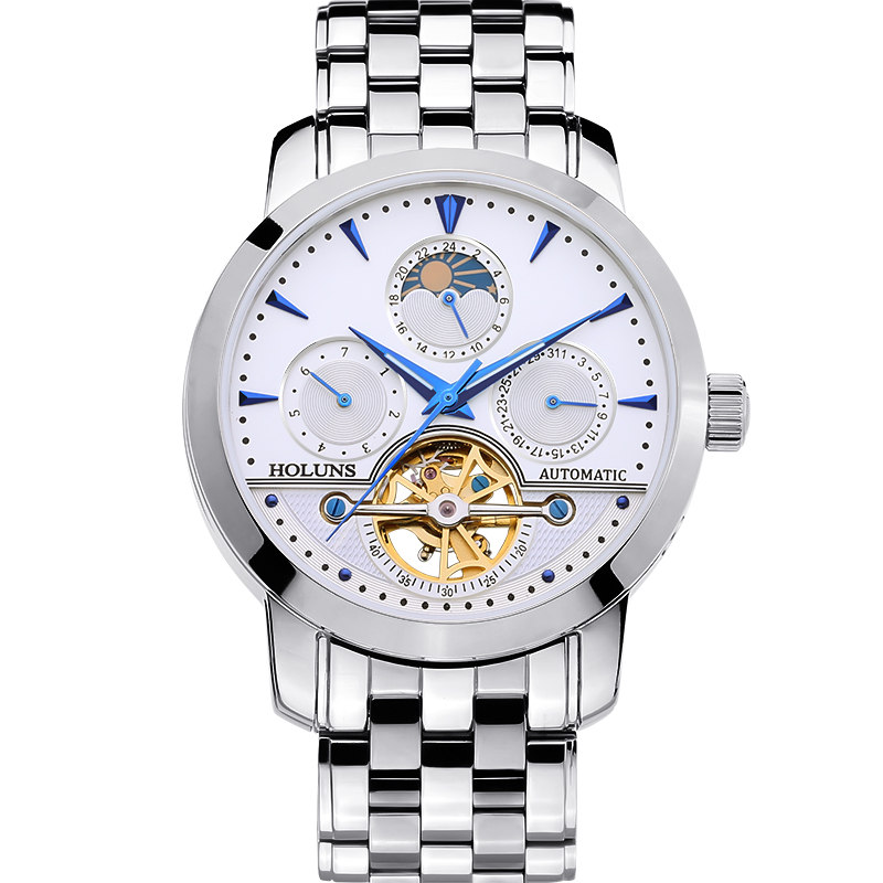 mens font b WATCHES b font MALE MANUAL MECHANICAL Stainless steel font b watches b font