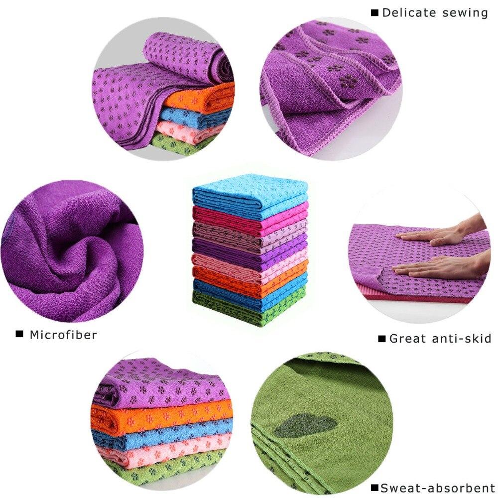 Microfibre Yoga Mat Towel