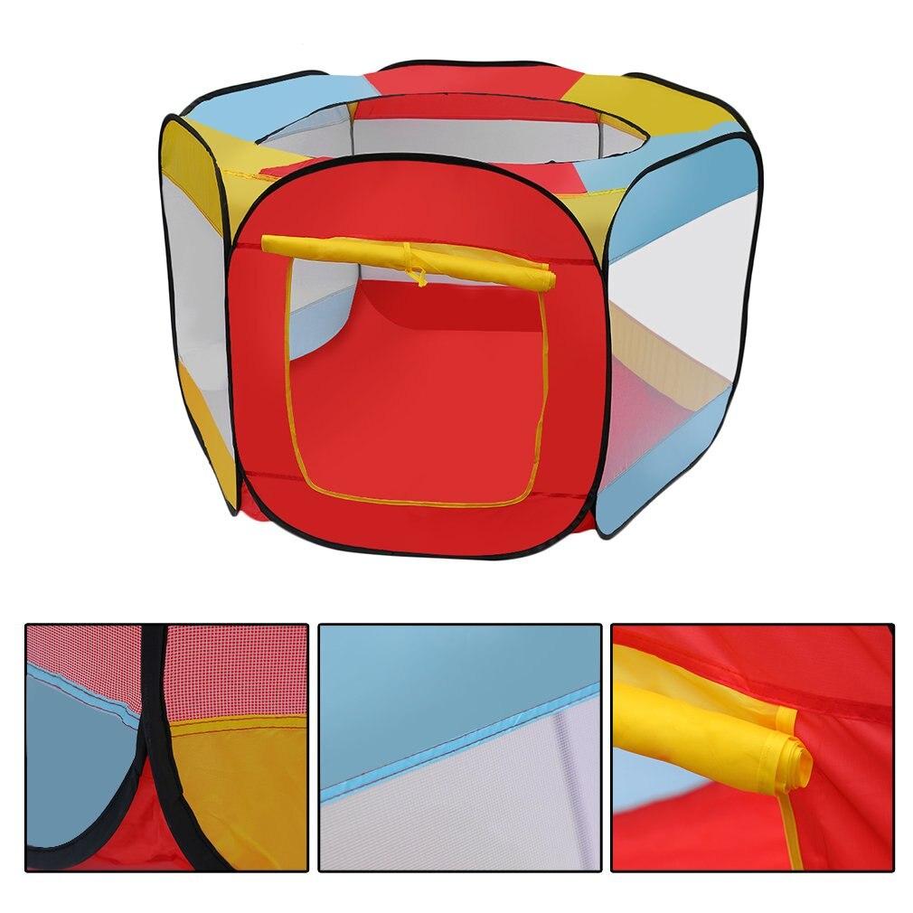Для детей Ocean бассейн с шариками игры палатка крытый Открытый складной игра дом игра хижине бассейн играть палатка крытый весело